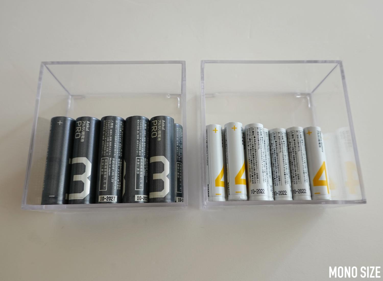 サナダ精工 クリアケースの収納例写真